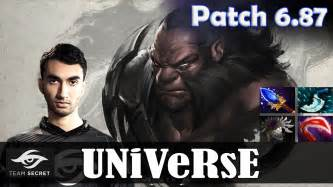 dota 2 patch 6 87 universe axe offlane pro mmr gameplay youtube