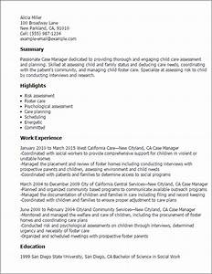 case manager resume template best design tips With case manager resume