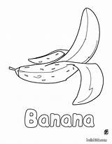 Banana Coloring Fruit Bananas Toddler Colouring Printable Apples Letter Hellokids Craft Stay Tracer Olds Getcolorings Coloringhome Simplistic Beneficial sketch template