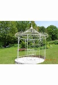 Gloriette En Fer Forgé : gloriette en fer forg le jardin de jadis ~ Premium-room.com Idées de Décoration