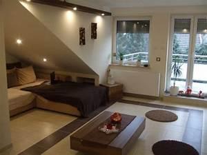 Wohnzimmer Mit Schräge : wohnzimmer dachgeschoss umbau von markuskraemer81 26620 zimmerschau ~ Orissabook.com Haus und Dekorationen