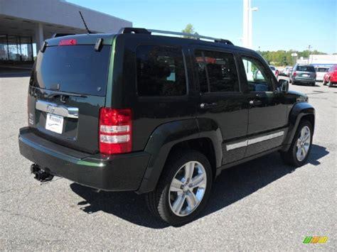 dark green jeep liberty 2012 natural green pearl jeep liberty jet 4x4 54851531