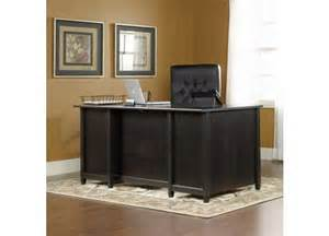 sauder edge water executive desk 409042
