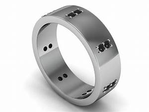 15 best of mens black tungsten wedding bands with diamonds With wedding rings oklahoma city