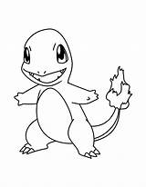 Coloring Pages Charmander Pokemon sketch template