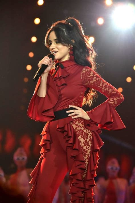 Camila Cabello Performs Mtv Europe Music Awards