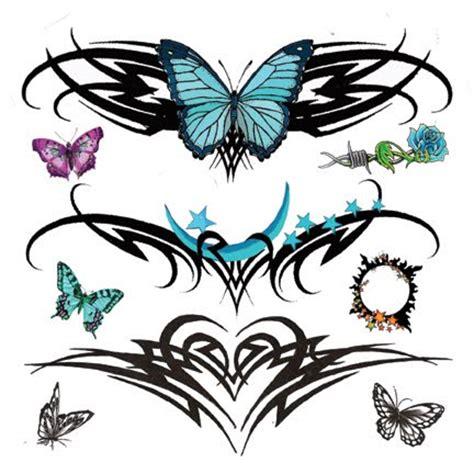beautiful   tattoos  tribal tattoos butterfly