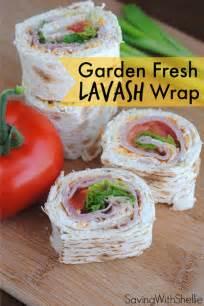 Lavash Sandwich Wraps