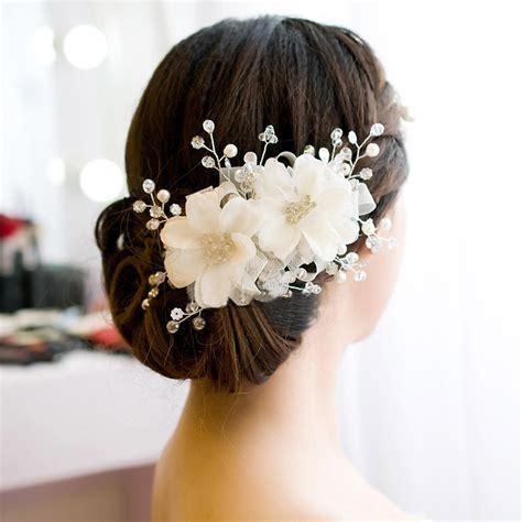 hair ornaments wedding bridal flower charming hair ornaments beaded