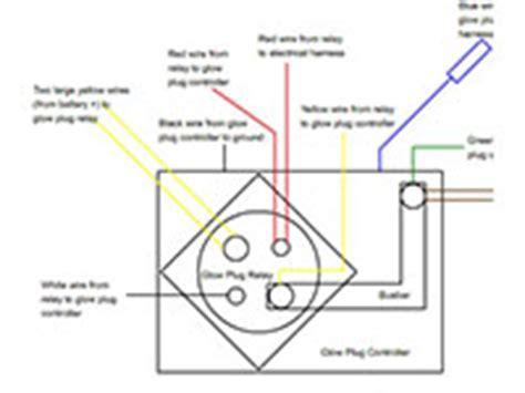 Idi Glow Plug Controller Relay Diagram Truck