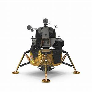 Lunar module apollo 11 3D model - TurboSquid 1195735