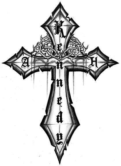 Gallery For Three Crosses Tattoo Designs - Clip Art Library