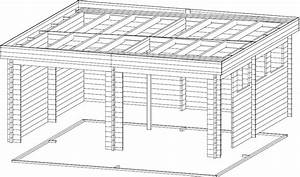 Doppelgarage Aus Holz : moderne doppelgarage aus holz mit schwingtor modell f 44mm 6 x 6 m hansagarten24 ~ Sanjose-hotels-ca.com Haus und Dekorationen