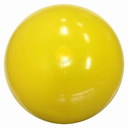 Balls Beach Yellow Solid Inch Beachballs Main
