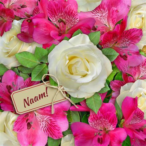 bosje bloemen plaatjes leuke beterschapskaart met bos mooie bloemen kaartje2go