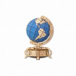 Globe Terrestre En Bois : eco wood art le globe terrestre puzzle en bois ~ Teatrodelosmanantiales.com Idées de Décoration