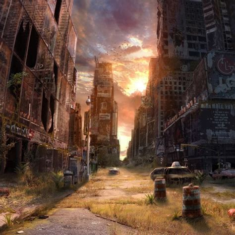 worlds    artistic post apocalyptic
