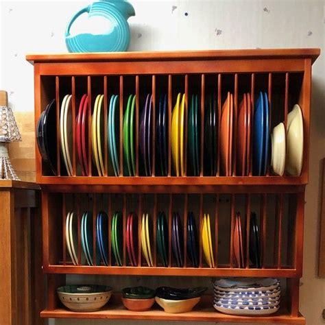 cabinet wood plate dish rack cabinet shelf kitchen holds etsy plate racks wooden