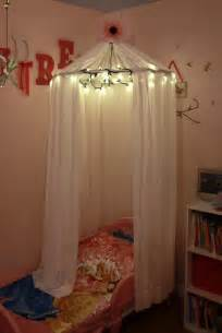 Canopy Bed Curtains Walmart adventures in pinteresting little girls bed canopy with