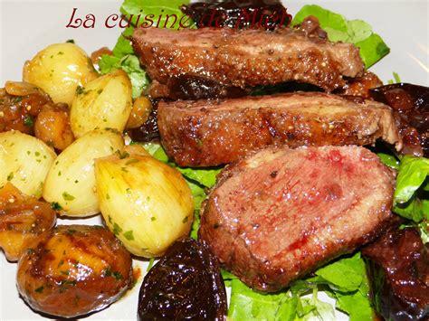 marabout cote cuisine com canard croustillant aux figues et porto la cuisine de mich