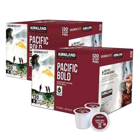 When you shop at costco, you're sure to find whatever you're searching for at a low cost, and more often than not, in bulk. Kirkland Signature Pacific Bold Coffee 240 K-Cup Pods # ...