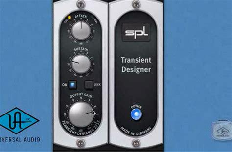 spl transient designer spl 174 transient uad audio plugin universal audio