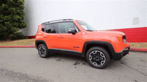 jeep renegade trailhawk orange 2016 jeep renegade trailhawk 4x4 omaha orange gpd10917