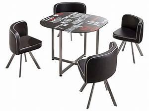 Ensemble Table 4 Chaises TOWN Vente De Ensemble Table