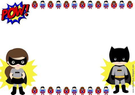 Marcos editables superhéroes y heroínas Motivación clase