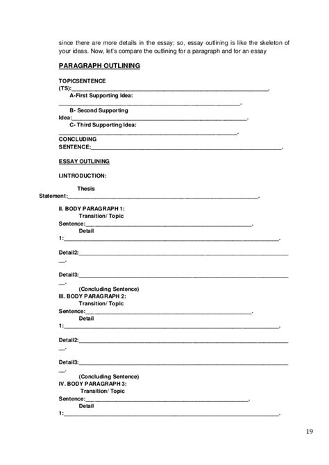 Resume Skeleton by Skeleton For Essay Writing 187 Papers On Plagiarism Write