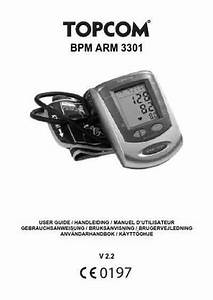 Topcom Bpm 3301 Blood Pressure Monitor Download Manual For