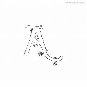 the gallery for gt girly alphabet stencils With cute letter stencils