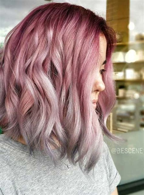 rose gold hair ideas herinterestcom