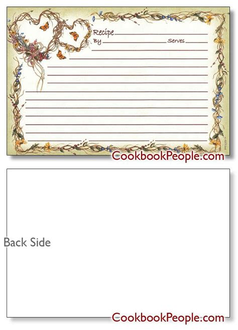 cr gibson recipe card template 57 best recipe scrapbooking paper borders and backgrounds