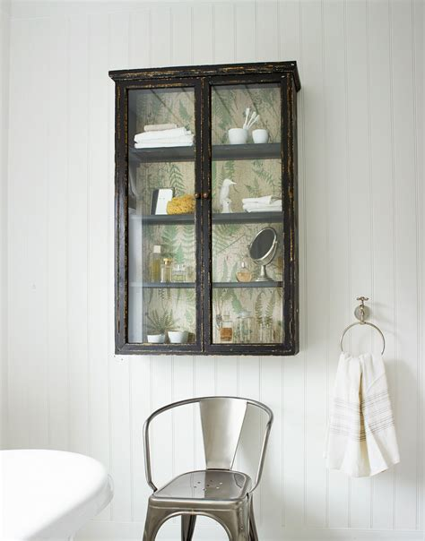 Finds Glass Fronted Wall Cabinet Homegirl London