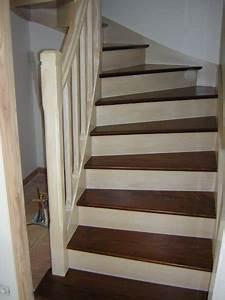 Déco Escalier Bois. r novation escalier bois d capage marches pour ...