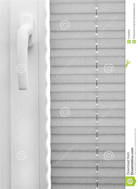Window blinds stock image. Image of security, blinders