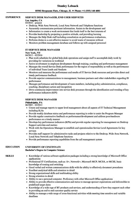 help desk manager resume annecarolynbird
