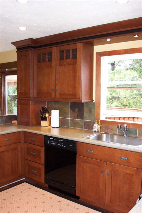 home depot shades bamboo mission style cabinets kitchen traditional with cherry