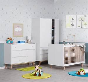 chambre bebe happy blanche jurassien With chambre bébé design avec fleurs artificielles france
