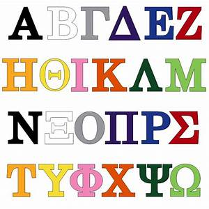 vinyl greek letters for your fraternity or sorority With vinyl greek letters
