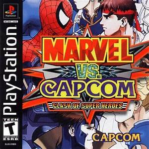 Marvel Vs Capcom Clash Of Super Heroes Sony Playstation
