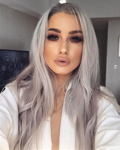 Pin By Estefanny Reyes On Makeup Hair Styles Dyed Hair