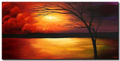 painting  sale sunset painting landscape colorful