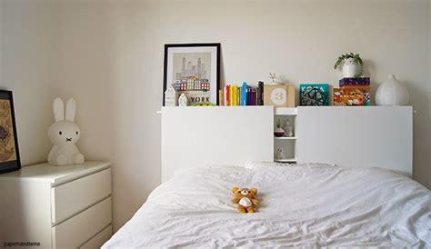 rangement pour tiroir cuisine tête de lit blanche diy rangement intégré bidouilles ikea