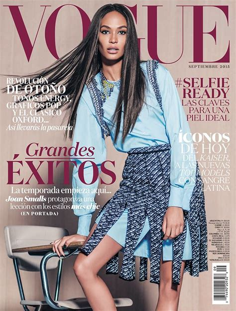 Joan Smalls on Vogue Mexico September 2015 Cover | Fashion ...