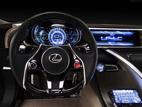 lexus lc interior 2012 lexus lf lc blue concept interior 2 track fever