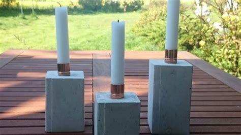 Kerzenständer Aus Beton Selber Machen