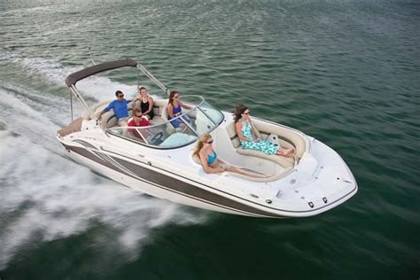 Cheapest Small Pontoon Boats by Deck Boat Vs Bowrider Discover Boating