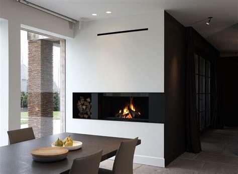 cheminee bois moderne